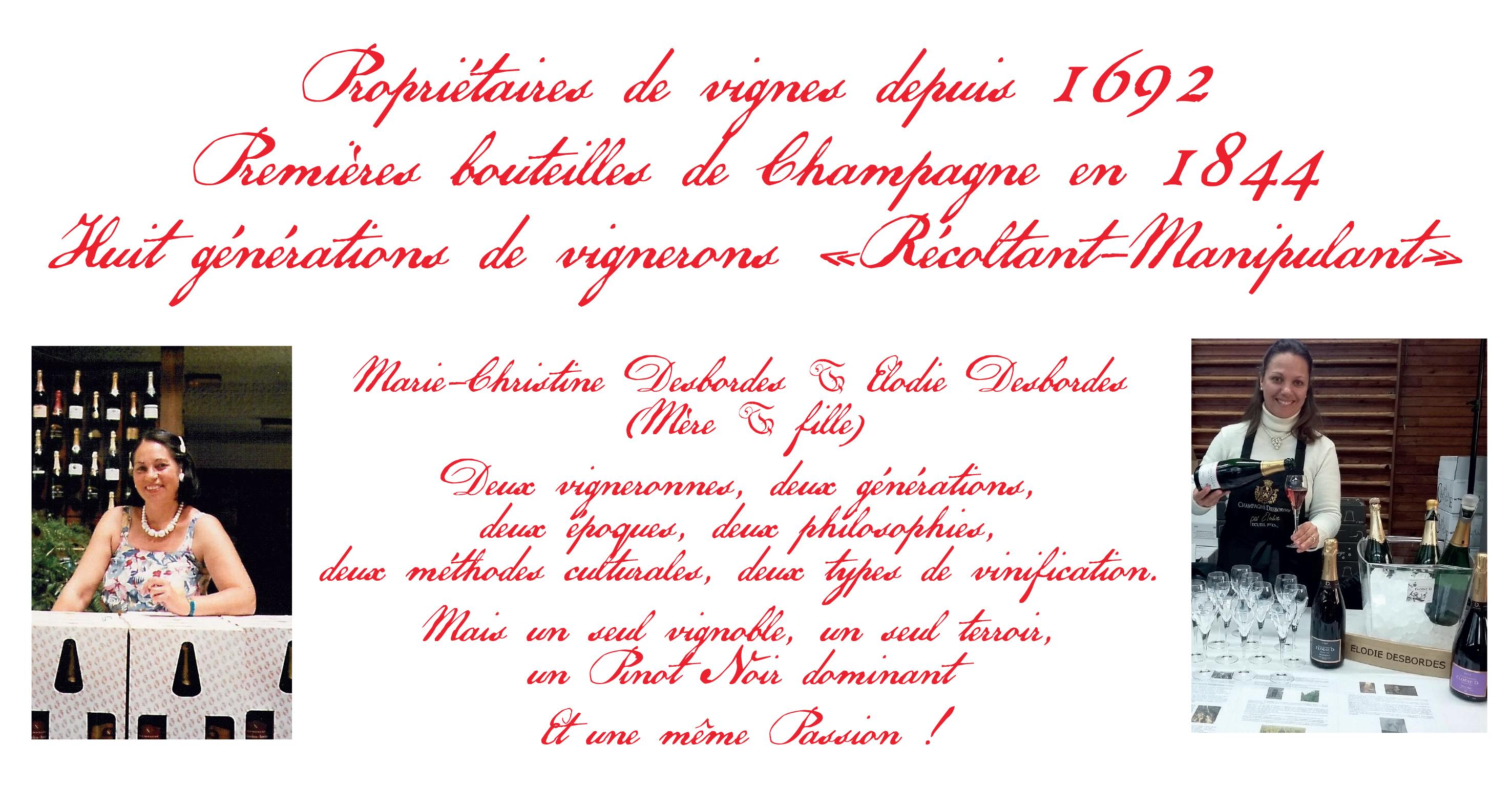 L'histoire des Champagne Elodie D.